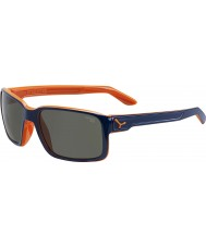 Cebe Dude blauw out oranje zonnebril