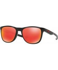 Oakley Oo9340-02 trillbe x zwart glanzend - ruby iridium zonnebril