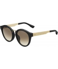 Jimmy Choo Ladies Pepy-s QFE jd zwarte roos goud zonnebril