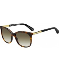 Kate Spade New York Ladies Julieanna-s crx cc donkere havana gouden zonnebril