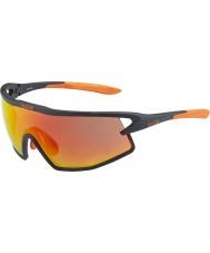 Bolle B-rock mat zwart en oranje TNS brand zonnebril
