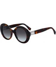 Fendi Dames ff0293 s 086 ib 52 zonnebril