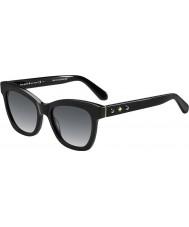Kate Spade New York Ladies krissy-s 807 f8 zwarte zonnebril