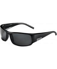 Bolle Koning glanzende zwarte zonnebril tns