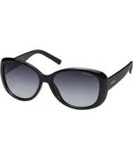 Polaroid Pld4014-s D28 wj glanzend zwart gepolariseerde zonnebril