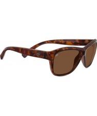 Serengeti Gabriella glanzend rood schildpad gepolariseerde drivers zonnebril