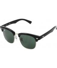 RayBan Junior Rj9050s 45 clubmaster zwarte 100-71 zonnebril