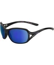 Bolle Solden glanzend blauw-violet zonnebril