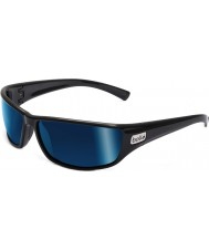 Bolle Python zwart gepolariseerde offshore-blauwe zonnebril