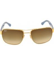 RayBan Rb3530 58 Highstreet goud 001-13 gradiënt zonnebrillen