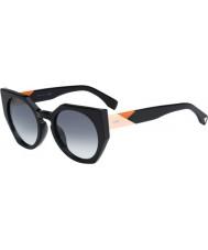 Fendi Facetten ff 0151-s 807 jj zwarte zonnebril
