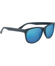 Serengeti Ostuni geschuurd donkergrijze gepolariseerde 555nm blauwe zonnebril