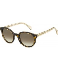 Tommy Hilfiger Ladies th 1437-s KY1 J6 geel havana beige zonnebril